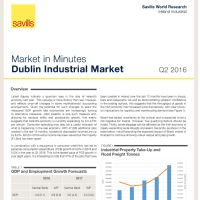 Industrial Market in Minutes - August 2016