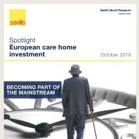 Spotlight European care home investment