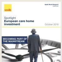 Spotlight European care home investment