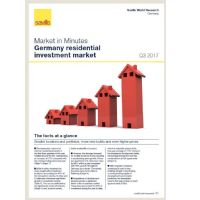Market in Minutes Germany residential investment market Q3 2017