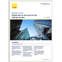 Briefing Note: Flying Start to the Year for the Lettings Market