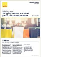 Shopping centres and retail: Let