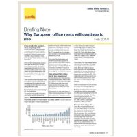 Briefing Note: Why European office rents will continue to rise