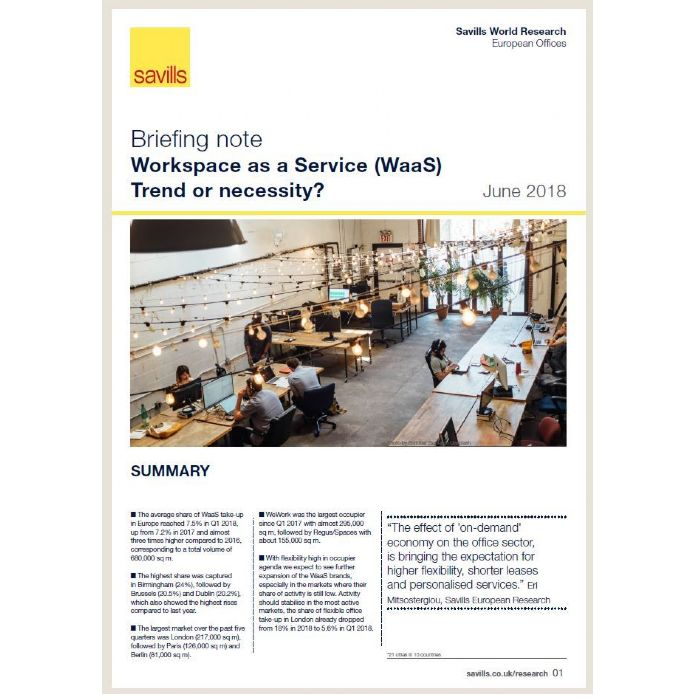 Briefing Note: Workspace as a service (WaaS)