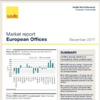 European Offices Market Report December 2017
