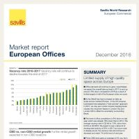 European Office Markets December 2016