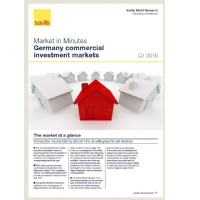 Market in Minutes Germany commercial investment markets Q1 2016