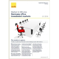 Market in Minutes Germany office investment markets Q1 2016
