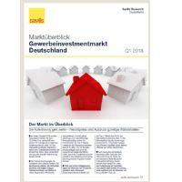 Marktüberblick Gewerbeinvestmentmarkt Deutschland Q1 2018