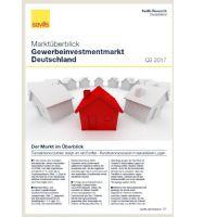 Marktüberblick Gewerbeinvestmentmarkt Deutschland Q3 2017