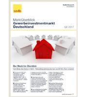 Marktüberblick Gewerbeinvestmentmarkt Deutschland Q2 2017
