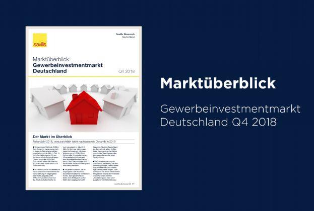 Martküberblick Gewerbeinvestmentmarkt Deutschland Q4 2018
