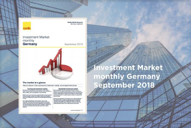 Investment Market monthly Germany - September 2018