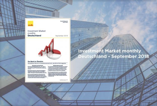 Investment Market monthly Deutschland - September 2018