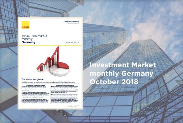 Investment Market monthly Germany - October 2018