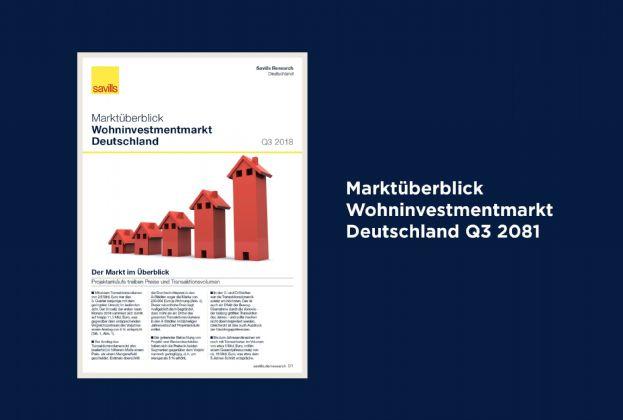 Marktüberblick Wohninvestmentmarkt Deutschland Q3 2018