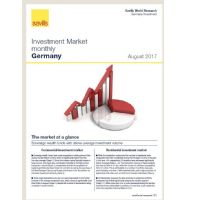 Investment Market monthly Germany - August 2017