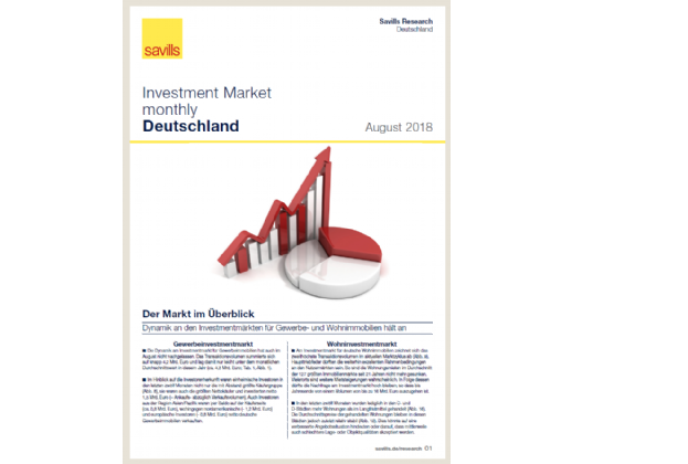 Investment Market monthly - August 2018