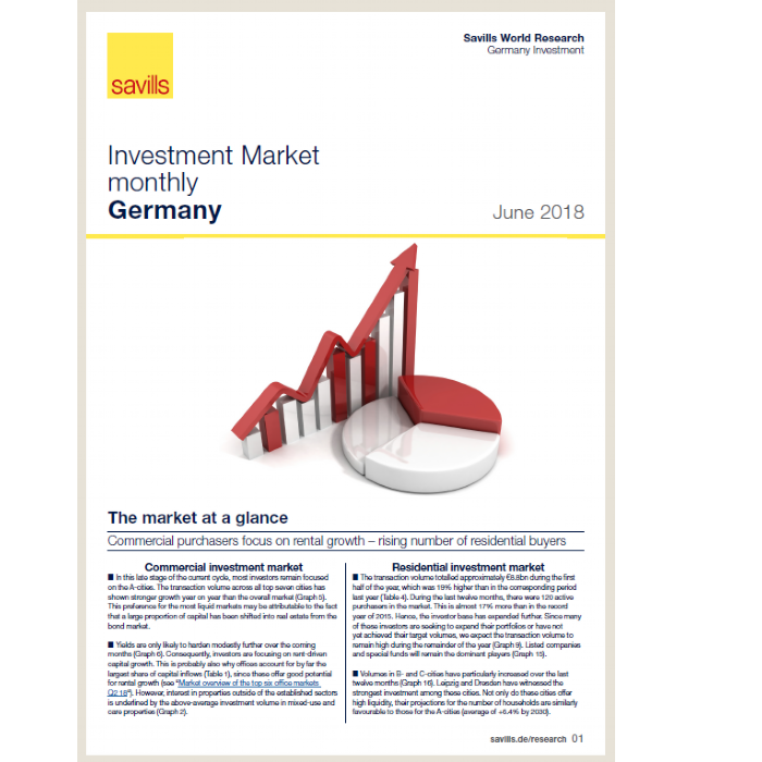 Investment Market monthly Germany - June 2018