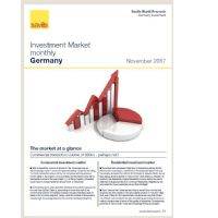 Investment Market monthly Germany - November 2017