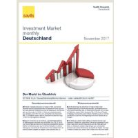 Investment Market monthly Deutschland - November 2017