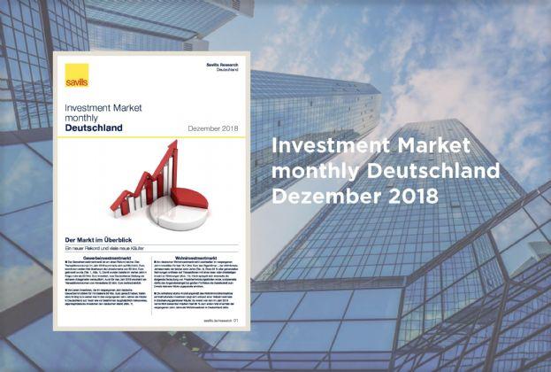Investment Market monthly Deutschland - Dezember 2018