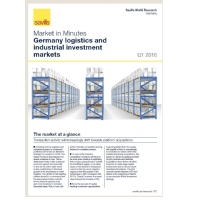 Market in Minutes Germany logistics and industrial investment markets Q1 2016