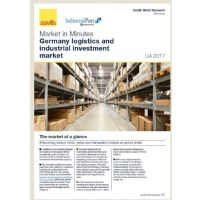 Market in Minutes Germany logistics and industrial investment market Q4 2018