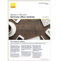 Market in Minutes Germany office markets Q1 2018