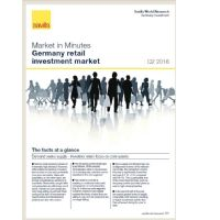 Market in Minutes Germany logistics and industrial investment markets Q2 2016