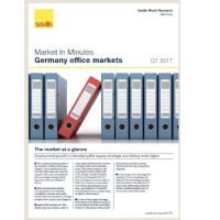 Market in Minutes Germany office markets Q1 2017