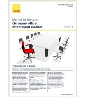 Market in Minutes Germany office investment market Q2 2016