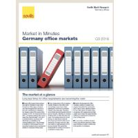 Market in Minutes Germany office market Q3 2016
