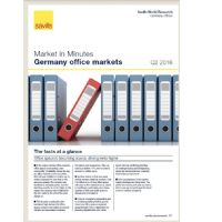 Market in Minutes Germany office markets Q2 2016