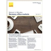 Market in Minutes Germany office markets Q2 2017