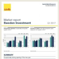 Swedish Market Report Q1 2017
