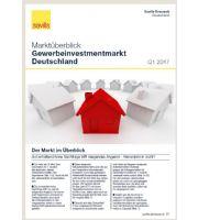 Marktüberblick Gewerbeinvestmentmarkt Deutschland Q1 2017