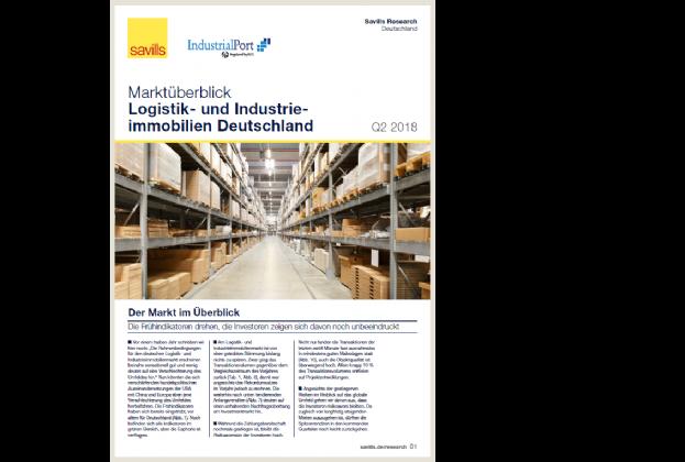 Marktüberblick Logistik- und Industrieimmobilien Deutschland Q2 2018