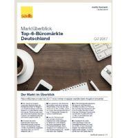 Marktüberblick Top-6-Büromärkte Deutschland Q3 2017