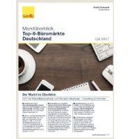 Marktüberblick Top-6-Büromärkte Deutschland Q4 2017