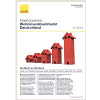 Marktüberblick Wohninvestmentmarkt Deutschland Q1 2018