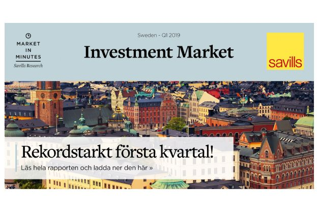 Investment Market Sweden Q1 2019