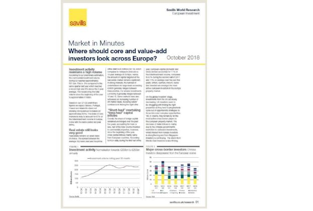 Market in Minutes: European Investment