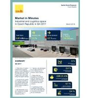 Market in Minutes - Industrial & Logistics space in Czech Republic, Q4 2017