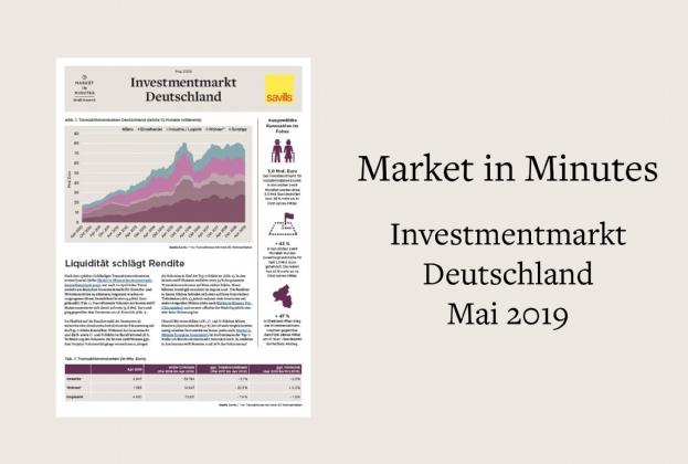 Market in Minutes Investmentmarkt Deutschland Mai 2019
