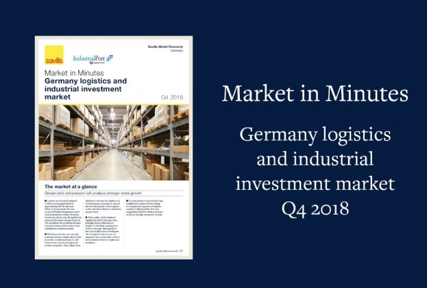 Market in Minutes Germany logistics and industrial investment market