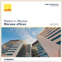 Market in Minutes Poland Warsaw Office Market Q3 2015