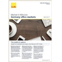 Market in Minutes Germany office markets Q3 2017