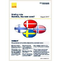 Briefing Note - Nordics, the new core?