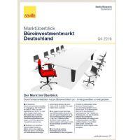 Marktüberblick Büroinvestmentmarkt Deutschland Q4 2016